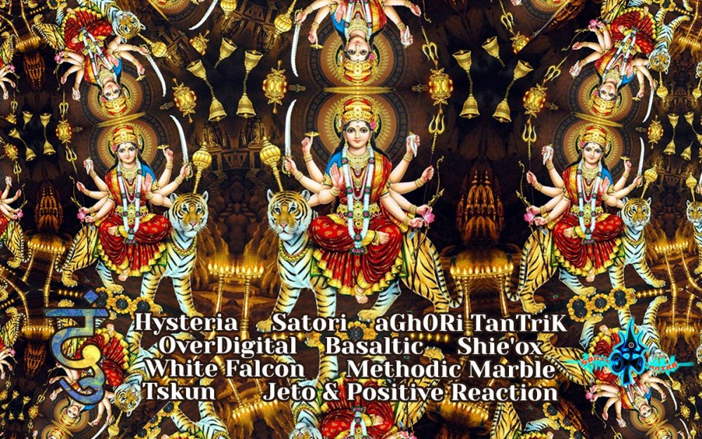 Top 10 psychedelic trance - Dhoom - 2020 - Sonic Tantra 2.jpg